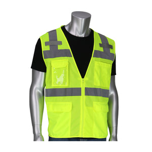 PIP 302-0750 ANSI Class 2 Ten Pocket Surveyors Vest