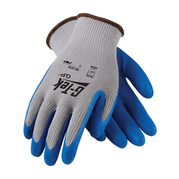 PIP 39-1310 G-Tek GP Seamless Knit Polycotton Gloves with Latex Coated Grip
