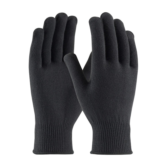 PIP 41-001 Black Seamless Knit Thermax Glove, 13 Gauge
