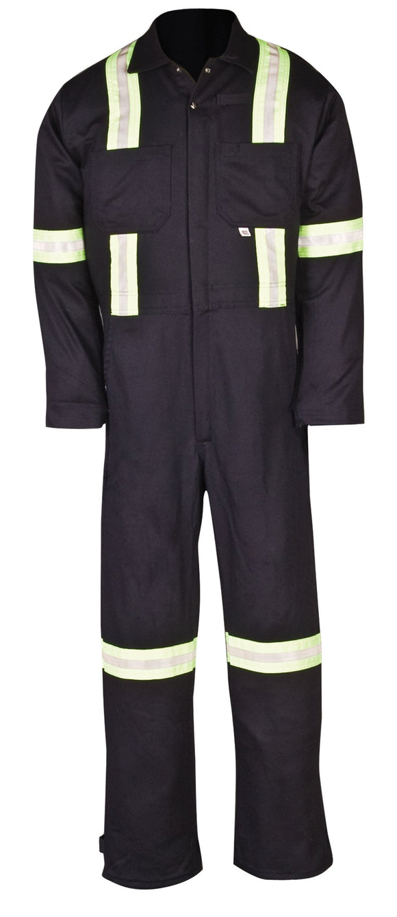 Big Bill 414VBF Welder's Coverall with Reflective Material