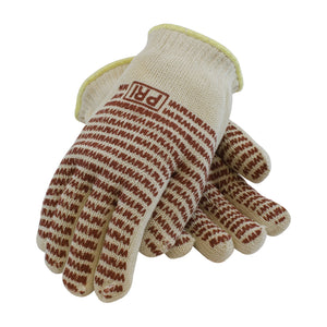 PIP 43-502 100% Cotton Knit Gloves, EverGrip Nitrile Coating