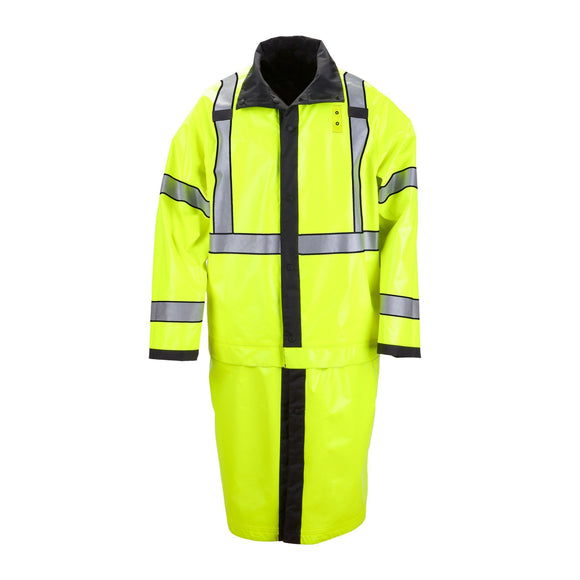 5.11 Tactical 48125 Long Reversible Hi-Vis Rain Coat