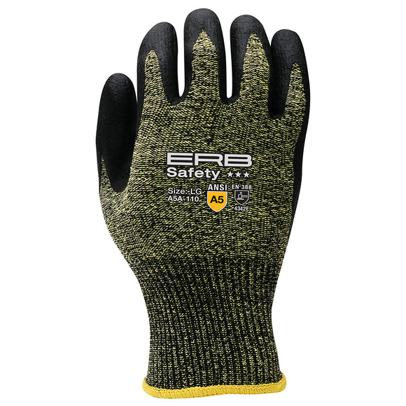 A5A-110 Aramid Cut Glove with Nitrile Micro-Foam Coating