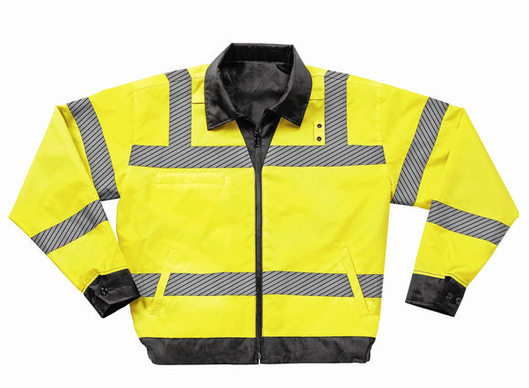 Liberty Uniform ANSI Class 3 Reversible Police Windbreaker