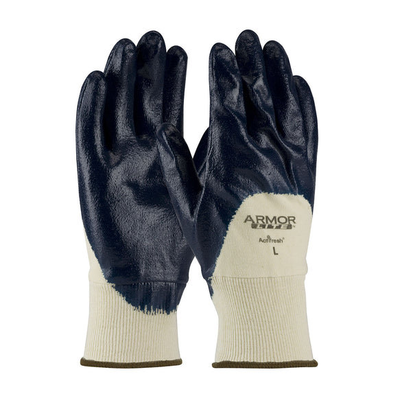 PIP 56-3170 ArmorLite Nitrile Dipped Knit Wrist Gloves