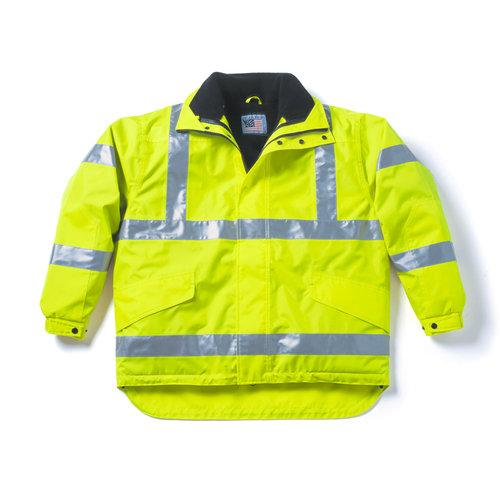 Snap N Wear Style 677T ANSI Class 3 Compliant Outer Jacket
