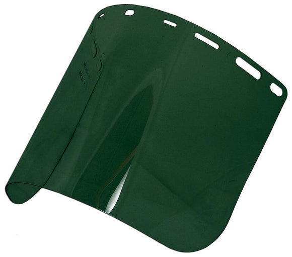 ERB 15193 8168 Green IR Shade 5 Polycarbonate Face Shield