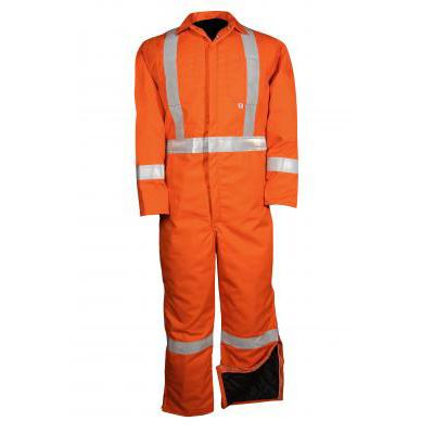 Big Bill 838CRT Hi Vis Insulated Twill Coverall