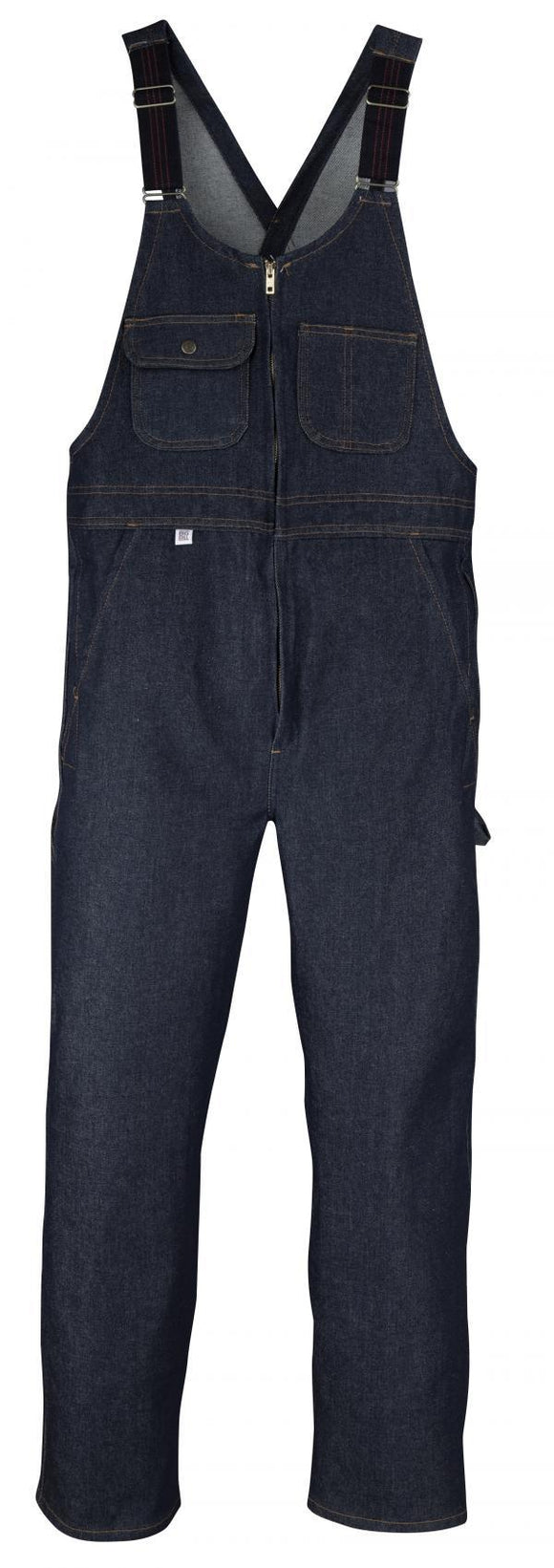 Big Bill 92 Denim Bib Overall with Zip Front Closure