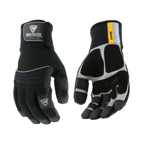 Westchester Pro Series 96653 Waterproof Winter Gloves with PVC Grip