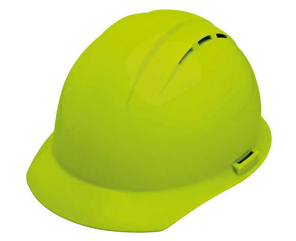 ERB Americana Vented Hard Hat with 4-Point Nylon Suspension