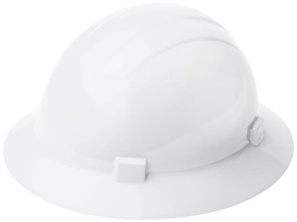 ERB Americana 360 ANSI Type 2 Full Brim Hard Hat with 4-Point Ratchet Suspension