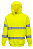 Portwest B304 Hi-Vis Hooded Sweatshirt