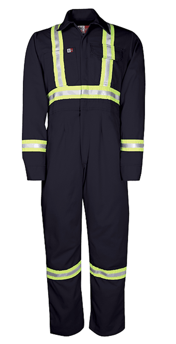 Big Bill 1175US7 Unlined FR Women's Coverall with Reflective Material