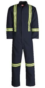 Big Bill 401RTN6 Nomex Unlined Work Coverall with Reflective Material