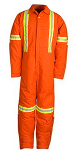 Big Bill 837BF Insulated Twill Coverall with Reflective Material
