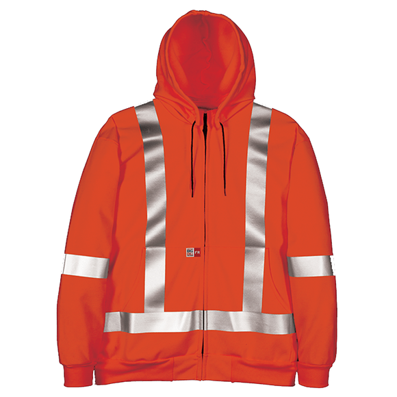 Big Bill RT27IT14 Hi Vis Zip Up FR Sweatshirt