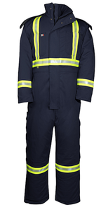 Big Bill V805N5 DuPont Nomex IIIA Hi Vis Insulated FR Coverall