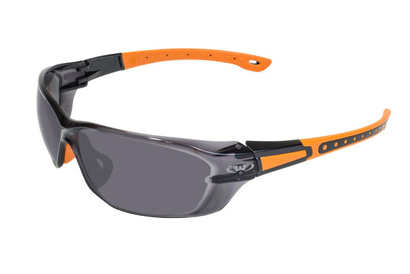 Global Vision Black Hills 1 Safety Glasses with Smoke Lenses