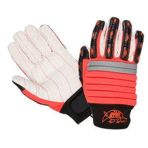 Southern Glove CHMECHO Arma Tuff Hi Vis Orange Impact Gloves