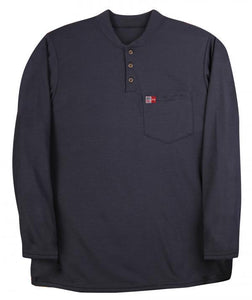 Big Bill DW18PD8 Polartec® Power Dry® FR Long Sleeve Henley