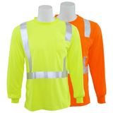 ERB 9007S Class 2 Hi Vis Long Sleeve T-Shirt