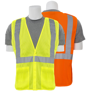 ERB S320 ANSI Class 2 Mesh Breakaway Safety Vest