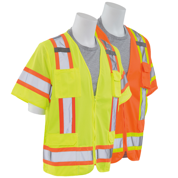 ERB S680 ANSI Class 3 Surveyors Safety Vest