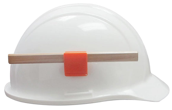 ERB 15684 Hard Hat Pencil Clip, Orange