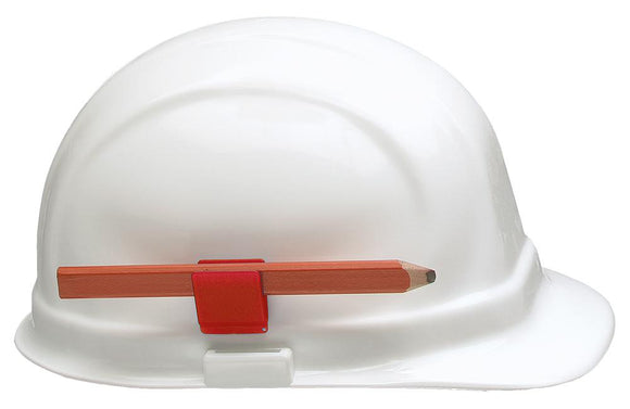 ERB 15688 Hard Hat Pencil Clip, Red