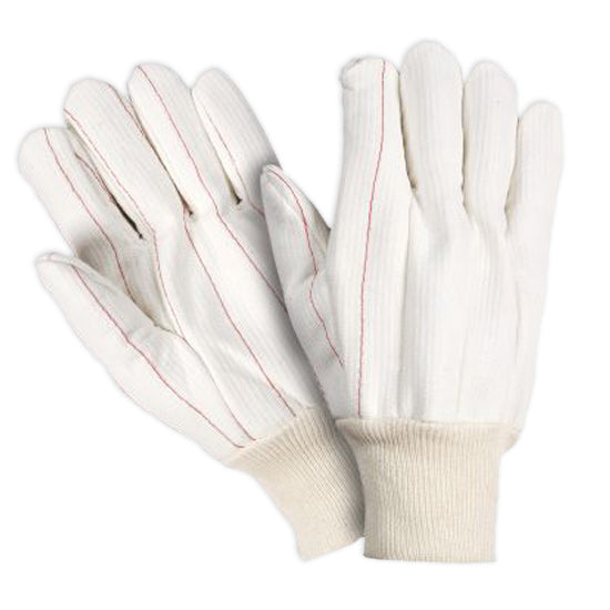 Southern Glove ICHF183 Heavy Weight Polycotton Corded Knit Wrist Gloves