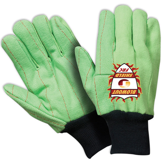Southern Glove IFCCFG209 Blowout Shield Fluorescent Green Flame Retardant Gloves