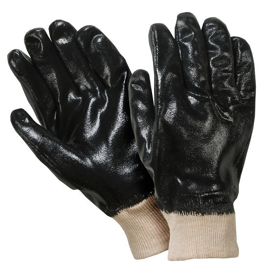 Southern Glove IN885KW Black Neoprene Coated Knit Wrist Gloves