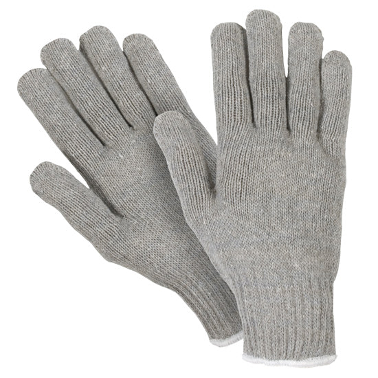 Southern Glove ISHH901 Heavy Weight Gray Polycotton String Knit Gloves