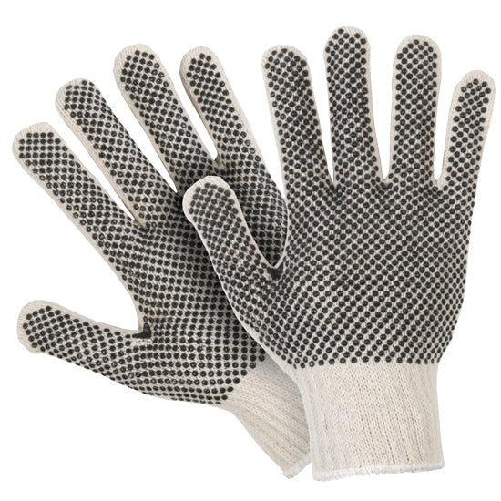 Southern Glove ISM3321 Medium Weight Polycotton String Knit Gloves with PVC Dots