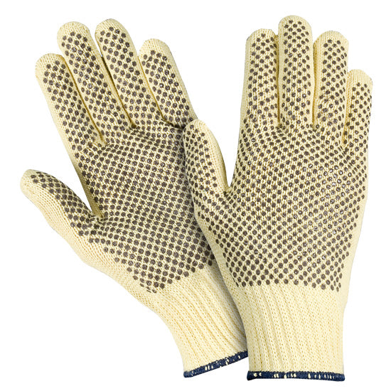 Southern Glove ISM7K21 Para-aramid String Knit Cut Resistant Gloves with PVC Dots