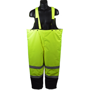 Petra Roc LQBBIP ANSI Class E Waterproof Quilted Thermal Bib Rain Pants