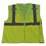 Petra Roc LV2-SUV/LVM2-SUV ANSI 5-Pocket Deluxe Surveyor's Safety Vest, Mesh Front