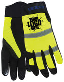 ERB M200 High Visibility Mechanics Gloves