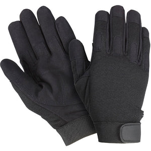 Southern Glove MECHBK Black Velcro Closure Mechanics Glove