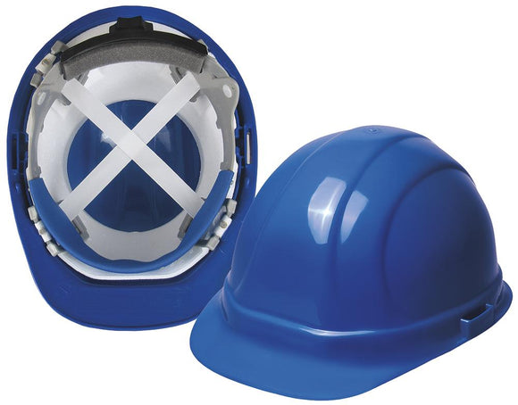 ERB Omega 360 ANSI Type 2 Cap Hard Hat with 4-Point Ratchet Suspension