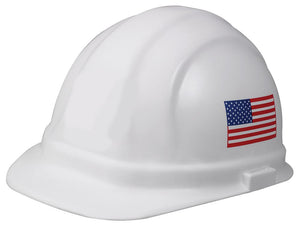 ERB Omega II Hard Hat with 6-Point Nylon Ratchet Suspension