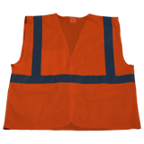 Petra Roc OV2-EC/OVM2-EC ANSI/ISEA 107-2010 Class 2 Economy Safety Vest with Velcro Closure, Mesh Back