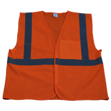 Petra Roc OV2-EC/OVM2-EC ANSI/ISEA 107-2010 Class 2 Economy Safety Vest with Velcro Closure, Mesh Front