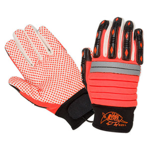 Southern Glove PDMECHO Arma Tuff Hi Vis Dotted Palm Impact Gloves