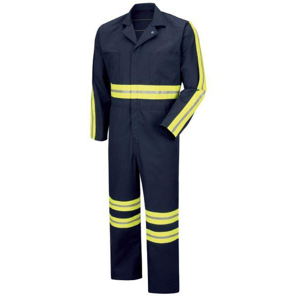 Red Kap CT10 Enhanced Visibility Action Back Coverall