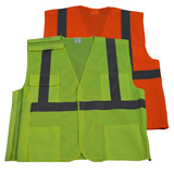 Petra Roc ANSI Class 2 5-Point Breakaway Safety Vest