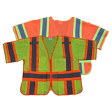 Petra Roc ANSI Class 3 Two Tone Deluxe Breakaway Safety Vest