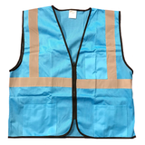 Petra Roc BVM-S1 Enhanced Visibility Blue Mesh Safety Vest