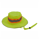 Petra Roc LRH-FB ANSI Lime Full Brimmed Ranger Style Hat